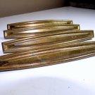5 Art Deco Brass Drawer Pulls Antique Hardware Vintage Dresser Handles Knobs