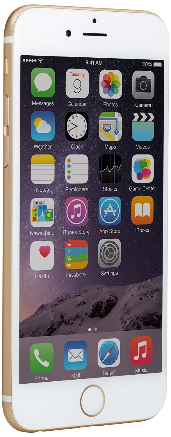 Apple iPhone 6, Gold, 16 GB (T-Mobile)