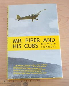 Mr. Piper and His Cubs by Devon Francis (1973 Hardcover) 5th printing 1978 rare