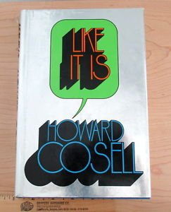 Like It Is by Howard Cosell (1974, Hardcover)