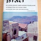 Israel By Joan Comay and Moshe Pearlman 1964  Golda Meiingr culture politics ill