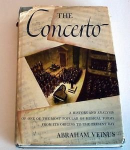The Concerto (hardcover 1944) English, history of music, illustrated unabridged