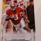 2015 Leaf draft Amari Cooper Rookie card alabama oakland raiders