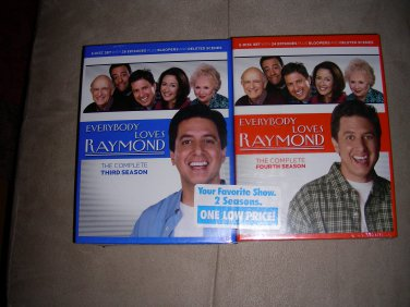 Everybody Loves Raymod Season 3 and 4