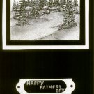 Hand Crafted Father's Day Greeting Card