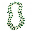 """6-7mm Teeth Green White Cultured Freshwater Pearl 48"""" Strand Endless Necklace"""