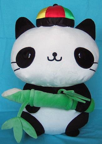 San-X Nyan Nyan Nyanko 10th Anniversary Jumbo Panda Plush