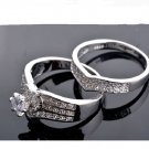 Silver Plated Heart Wedding Rings For Women Romantic Accessories Fashion Party Unique Rings (6)