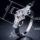 New flower Wedding engagement Rings for women vintage anillos de plata shape Women Ring (8)