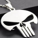 Stainless Steel Skull Pendant Necklace Fashion Jewelry