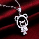 Cute Fashion Bear Pendant Necklace