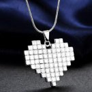 New Fashion Popular Heart Chain Pendant Necklace Jewelry