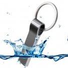 New USB 16GB Waterproof Metal Silver Pen Drive