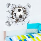 Football PVC Removable Wall Decal Soccer Kid Boy Bedroom Wall Sticker
