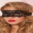 Hollow Lace Erotic Costumes Party Mask For Women (Black)