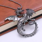"""A Song of Ice and Fire"" Targaryen Dragon Pendant Necklace Women or Men Fashion Casual Jewelry"