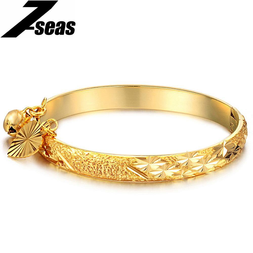 Cuff Bead Open Bangle For Women