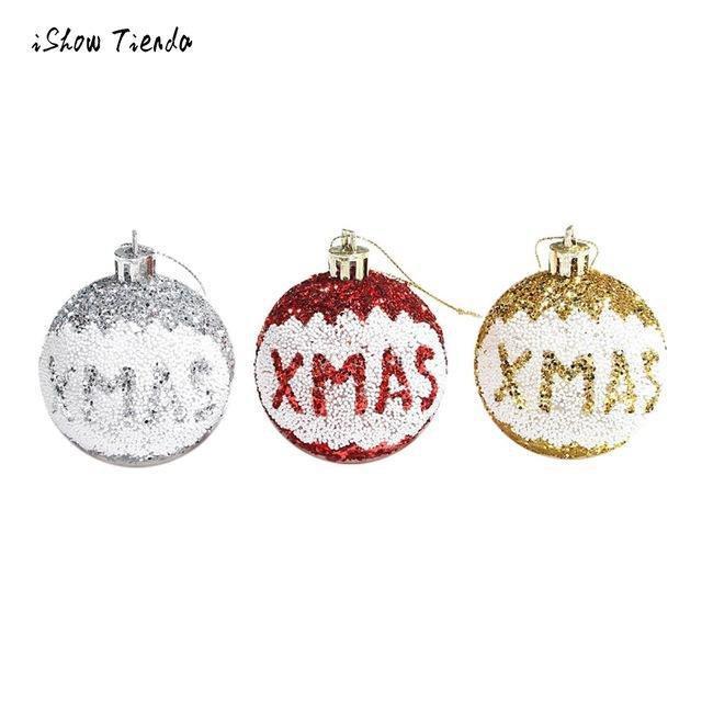 3Pcs Led Merry Christmas Tree Bulb Light Ball Ornament For Christmas