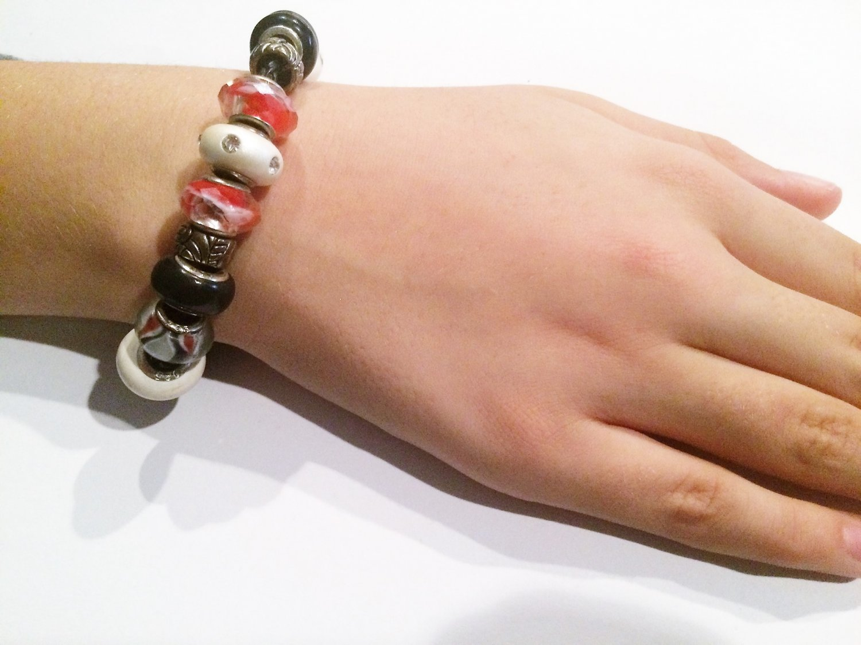 Emperor Penguin European Charm Bracelet