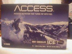 Mint Chocolate Ice Access Bars by Melaleuca Performance Energy Fat Burning Bar