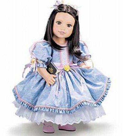 Violet Travilla Life of Faith Doll Mission City Press 1st Presentation - RETIRED  NEW