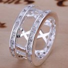 Lovers Roman Numerals Ring