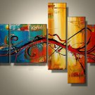 Handmade high quality abstract oil painting on canvas