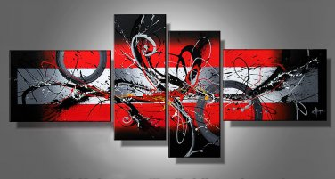 Handmade decoration abstract wall art oil painting on canvas