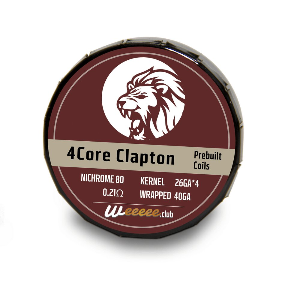 20x Pre Built Coils 4Core Clapton Ready preMade by Nichrome 80 NI80 Heating Wirefor RDA RTA 0.21�