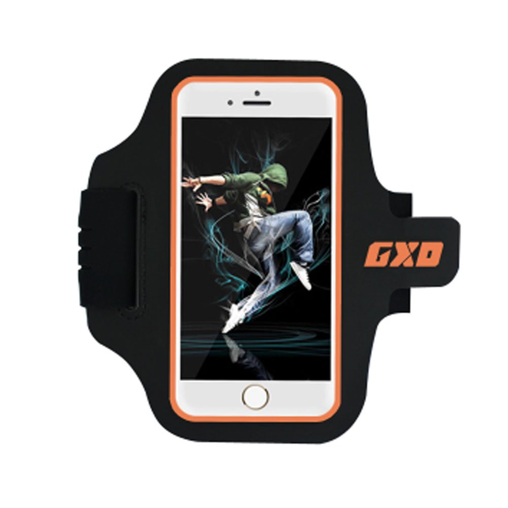 Kylin Express iPhone 6 Armband Case Cover Cell Phone Holder Sports Running Gym Cycle - Orange