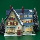 Dept 56 Christmas Alpine Village Series Apotek And Tabak Building 6540-4