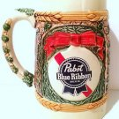 Pabst Brewing Company 1985 LIMITED EDITION Holiday Stein King Gambrinus BEER Mug