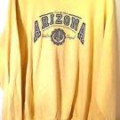 Hanes Comfort Blend 'ARIZONA' yellow long sleeve sweatshirt size 2XL (50-52) EUC