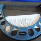 """New! Fowler 52-240-006-1, 5-6"""" Outside Micrometer w/Case & Ratchet Stop Thimble"""
