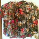 LOT OF 4 - Women Floral Shirt Tops SZ L Denim Republic White Stag Separate Issue