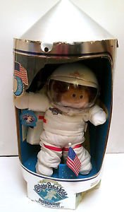 Cabbage Patch Kids Doll Vintage 1986 Young Astronaut Complete w/ Accessories Box