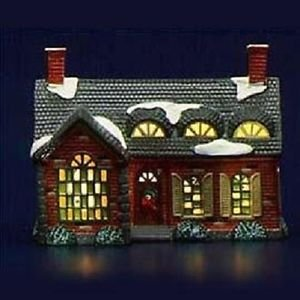 Department 56 Original Snow Village - Stonehurst House - Dept 5140-3 EUC!