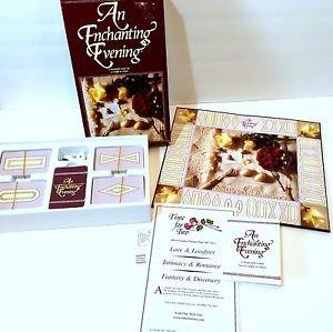 An Enchanting Evening Couple Romance Board Game Romantic Play Date Night 2003