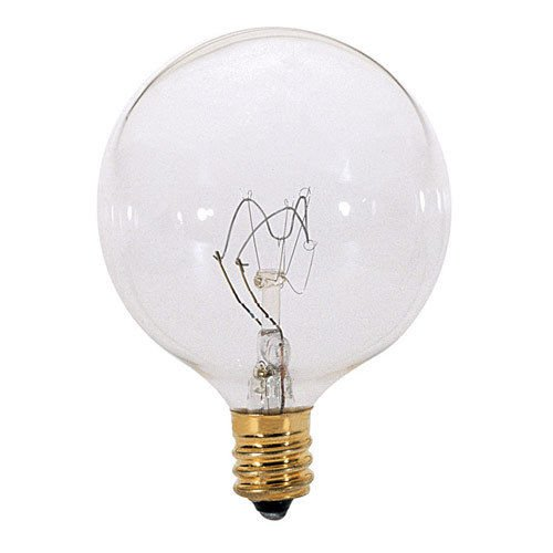 Large Light Bulb 25W Wax Tart Oil Candle Warmer Replacement Clear