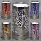 Trees Aroma Lamp Wax Tart Scented Oil Warmer Burner Electric LED Changes Colors