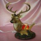 Deer Fragrance Lamp Wax Tart Melts Oil Warmer Burner Electric Polyresin Antlers