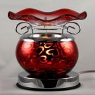 Hearts Touch Aroma Lamp Wax Tart Scented Oil Warmer Burner Electric Red
