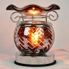 Brown Touch Aroma Lamp Wax Tart Scented Oil Warmer Burner Electric Designed