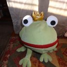 Ikea Minnen Groda Frog Prince Pajama PJ Keeper Zipper Mouth Green Pillow Plush