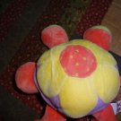 "8"" Mary Meyer Pastel Colorful Turtle Fleecy Friend"