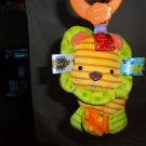 Taggies Lion Developmental Stroller or Car Seat Fleecy Toy