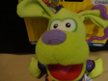 NWT Pajanimals Stroll n Go Crinklin Apollo Plush Toy Jim Henson's