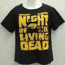 Night of the Living Dead George A. Romero horror movie t-shirt women's ~XL