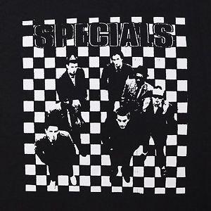 The Specials AKA band  ***XLARGE*** screen printed t-shirt Black ska music
