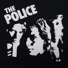 The Police band ***XLARGE*** screen printed t-shirt Black retro style